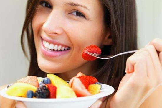 Increase the intake of fruits:
