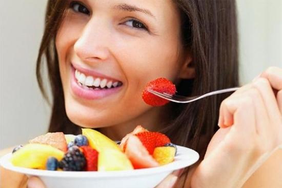 Increase the intake of fruits: