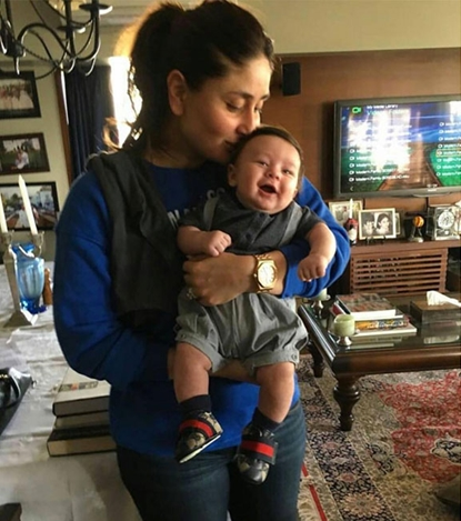 Kareena Kapoor with Taimur Ali Khan Pataudi