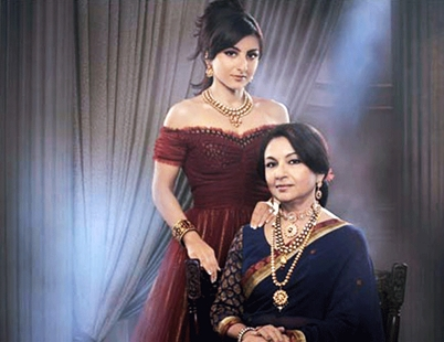 Sharmila Tagore with Soha Ali Khan