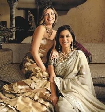 Neetu Singh with Riddhima Kapoor Sahani