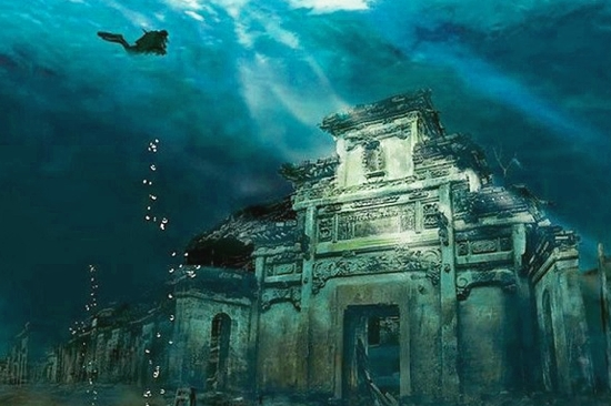 Ancient Underwater City, China