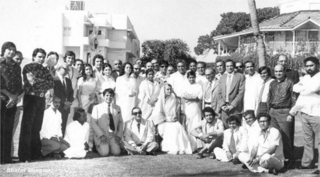 When Bollywood posed with Indira Gandhi