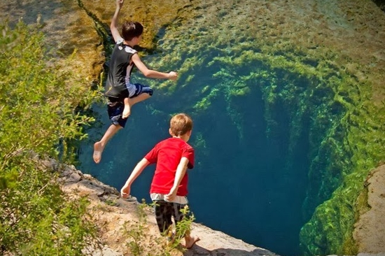 Jacob's Well, Texas