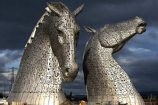 Kelpies, Grangemouth, UK