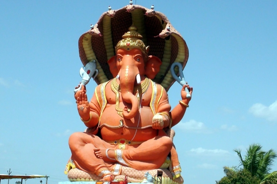 The tallest Ganesh Idol