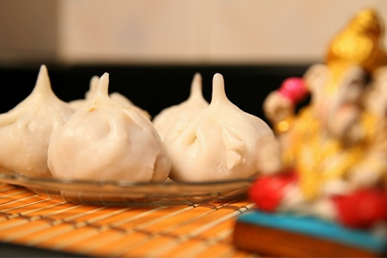 Modak, Lord Ganesha's favourite sweet is highly prepared during this festival. Modak, literally refers to something that brings joy