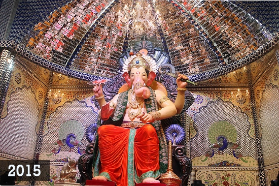 The Famous Lal Baugcha Raja