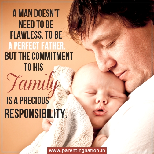 His Family is his most precious responsibility