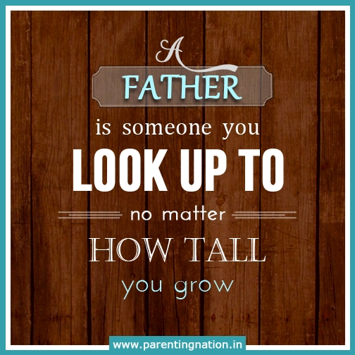 He is someone you look upto