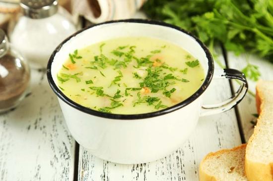 Potato and Spring Onion Soup