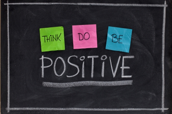 Let go of the negative thoughts
